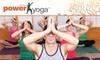 Arizona Power Yoga - Marana: $35 for One Month of Unlimited Yoga at Arizona Power Yoga
