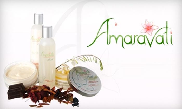 Amaravati: $25 for $55 Worth of Organic Bath and Body Products from Amaravati