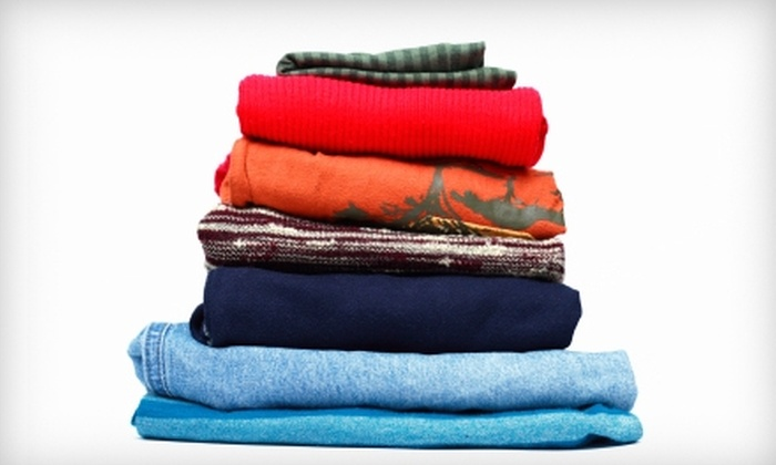 A Maidzing Laundry Service - Leander: $16 for Pick-Up, Washing, and Delivery of Four Loads of Laundry from A Maidzing Laundry Service ($32 Value)