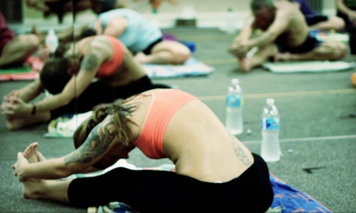 Bikram Yoga on the Island - Island Acres: 10 or 20 Classes at Bikram Yoga on the Island on Merritt Island (Up to 57% Off)