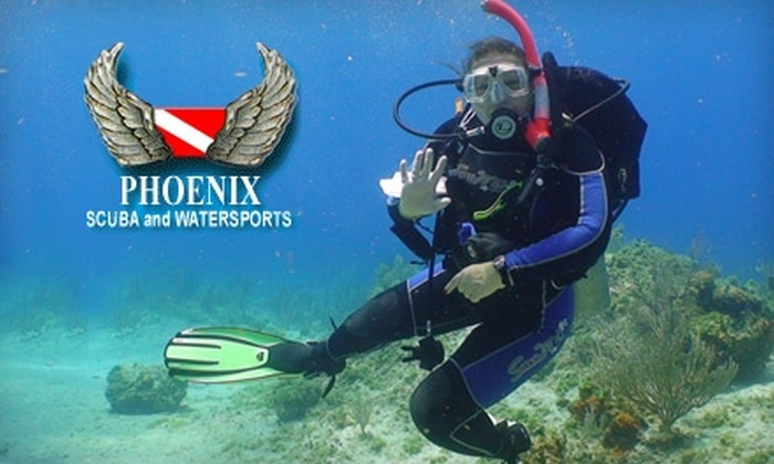 Phoenix Scuba and Water Sports - Lackawanna: $25 for a $50 Discover Scuba Class at Phoenix Scuba and Water Sports
