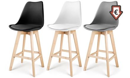 tabourets de bar laikan groupon. Black Bedroom Furniture Sets. Home Design Ideas
