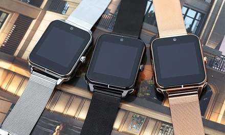 Stainless Steel Smartwatch
