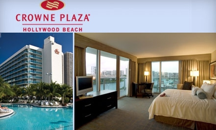 Crowne Plaza Hollywood Beach - Hollywood: $89 for a One-Night Stay at Crowne Plaza Hollywood Beach Florida Hotel  (Up To A $199 Value)