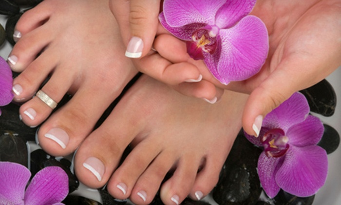 12th Ave Hair and Nail Spa - Broadway: Deluxe Mani-Pedi or Haircut and Style at 12th Ave Hair and Nail Spa
