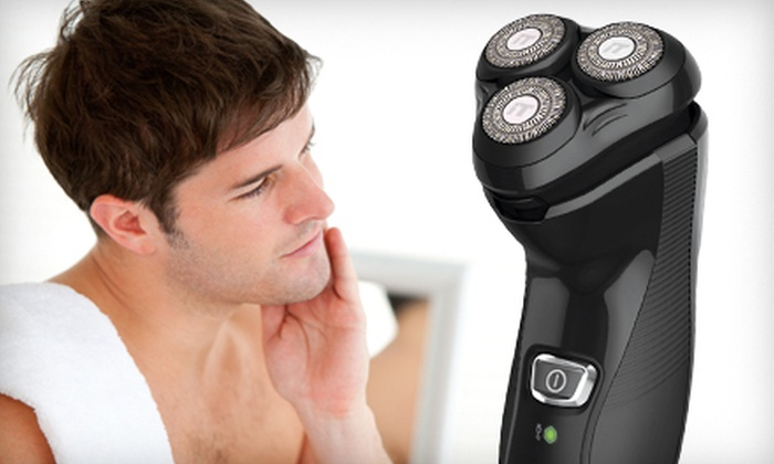 Remington Rotary Shaver: $25 for a Remington Cordless Pivot and Flex Rotary Shaver ($44.99 Value)