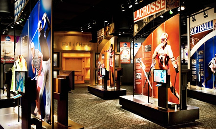 NCAA Hall of Champions - Central Indianapolis: $5 for Outing for Two to NCAA Hall of Champions (Up to $10 Value)