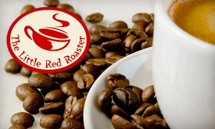 The Little Red Roaster - Central London: $5 for $10 Worth of Coffee and Light Fare at The Little Red Roaster on 71 King Street