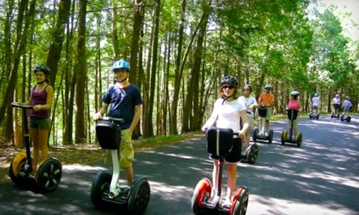 Segway the Door Tours - Sturgeon Bay: $45 for Segway Lesson and Tour of Historic Downtown Sturgeon Bay for Two from Segway the Door Tours ($90 Value)