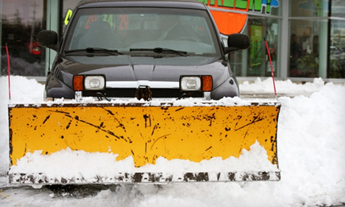 Green Bay Snow Plowing - Red Smith: Two Snowplowing Services or Season-Long Snowplowing Package from Green Bay Snow Plowing (Up to 61% Off)