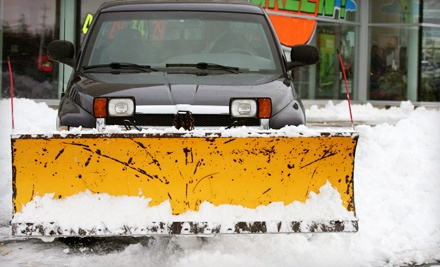 2 Snowplowing Appointments (a $60 value) - Green Bay Snow Plowing in