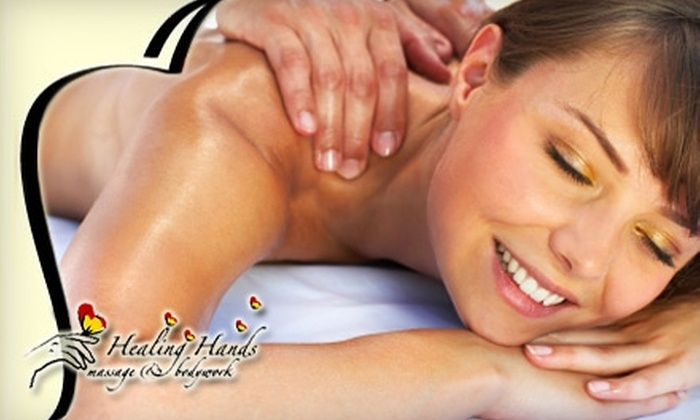 Healing Hands - Charleston: $35 for Your Choice of a 60-Minute Swedish or Deep-Tissue Massage at Healing Hands Massage & Bodywork ($70 Value)