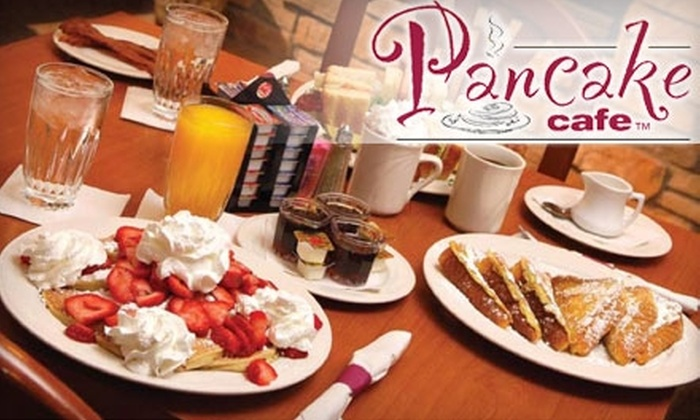 Pancake Cafe - Fitchburg: $50 for Two Pounds of Pancake Cafe Pancake Mix, Two Pounds of Coffee, and a $50 Café Gift Certificate