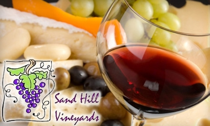 Sand Hill Vineyards - Northwest Oklahoma City: $23 for a Wine and Food Pairing Educational Seminar from Sand Hill Vineyards ($49 Value)