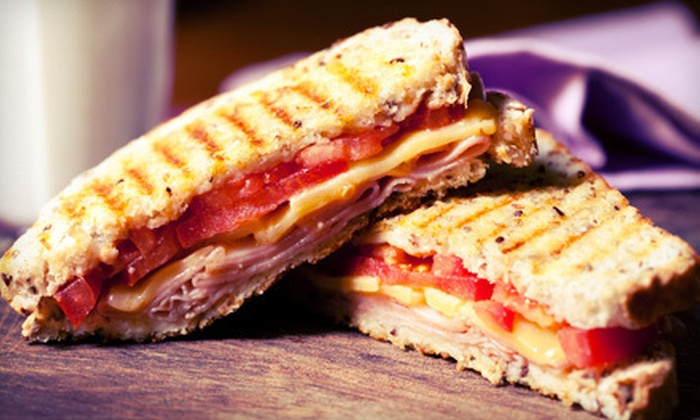 The Grilled Cheese Factory - Melt Factory Grilled Cheese: Sandwich Meal with Sodas for Two or Four at The Grilled Cheese Factory in Morristown (55% Off)