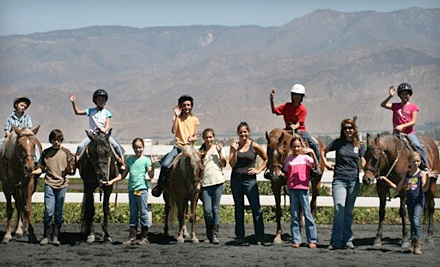 3-Hour Horse-Riding Birthday Party for up to 8 People (a $250 value) - El Camino Ranch in Redlands