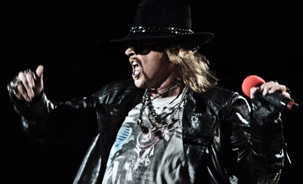 Live Nation: Guns N' Roses at the Covelli Centre on Wed., Dec. 7 at 8PM: Sections 220-222 Seating - Guns N Roses with Black Label Society in Youngstown