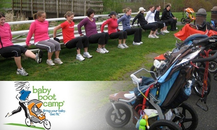 Baby Boot Camp - Multiple Locations: $29 for Four Stroller-Fitness Classes at Baby Boot Camp in Norman (Up to $60 Value)
