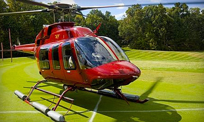 Baltimore Helicopter Services - Southeastern Baltimore: Helicopter Tour for One, Two, or Four on June 16 or 17 from Baltimore Helicopter Services (Up to 62% Off)