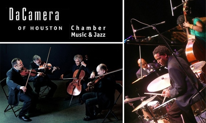 Da Camera of Houston - Downtown: $20 Tickets October Jazz & Classical Music Da Camera Concerts. Buy Here for Charles Lloyd New Quartet on 10/17. Other Dates Below.