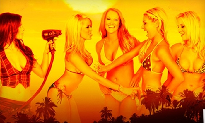 Sunset Tan - Multiple Locations: $29 for a Custom Airbrush Tan ($70 Value) or $59 for Three Months of Unlimited Tanning ($175 Value) at Sunset Tan in West Hollywood