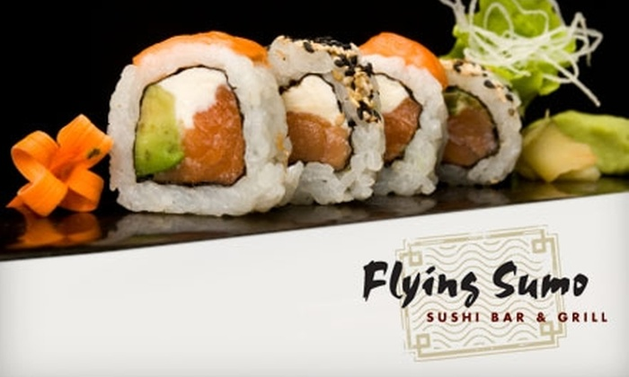 Flying Sumo - Park City: $20 for $50 Worth of Sushi and More at Flying Sumo