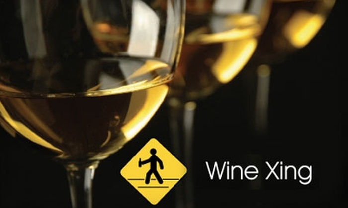 Wine Xing - Wilsonville: $10 Wine Tasting for Two at Wine Xing in Wilsonville ($20 Value)