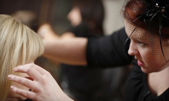 Grand Salon - LoDo: $45 for a Haircut and Phyto Botanical Deep-Conditioning Treatment at Grand Salon (Up to $115 Value)