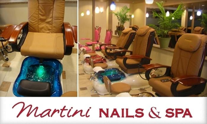 Martini Nails & Spa  - Central Omaha: $35 Mani-Pedi at Martini Nails & Spa ($70 Value)