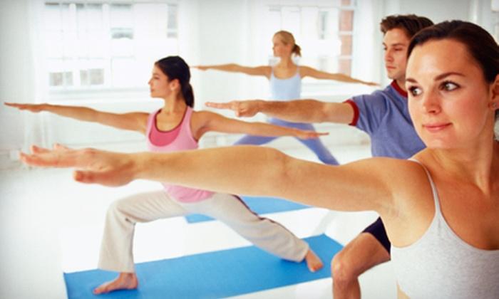 Moksha Yoga Saskatoon - Saskatoon: 10 Yoga Classes or One Month of Unlimited Classes at Moksha Yoga Saskatoon