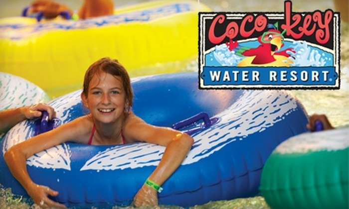 CoCo Key Water Resort - South Central Omaha: $30 for Family Four-Pack of Day Passes to CoCo Key Water Resort ($60 Value)