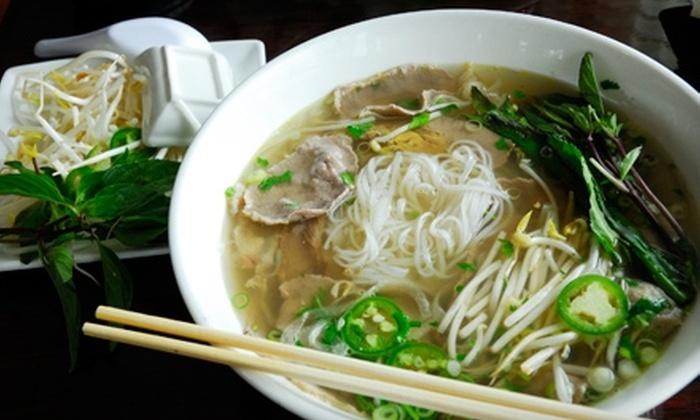 Bobo Noodle House - Skinker DeBaliviere: $10 for $20 Worth of Southeast Asian Cuisine at Bobo Noodle House