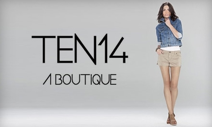 Ten14 A Boutique - Northwest Oklahoma City: $30 for $60 Worth of Clothing and Accessories at Ten14 A Boutique