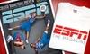"ESPN Magazine: $13 for One-Year Subscription to ""ESPN The Magazine,"" Plus ESPN T-shirt ($26 Value)"