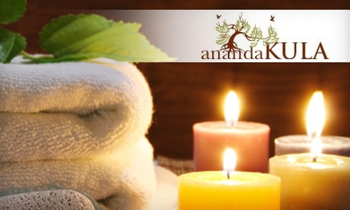 Ananda Kula - Fairfax: $25 for a 60-Minute Reiki Treatment at Ananda Kula ($50 Value)