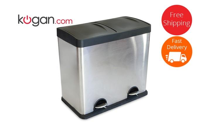 Twin Compartment Kitchen Bin