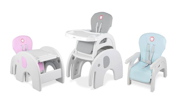Kinderstoel En Tafel Set.5 In 1 Stoel Tafel Set Groupon
