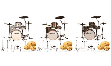 Sawtooth Command Drum Set with 18