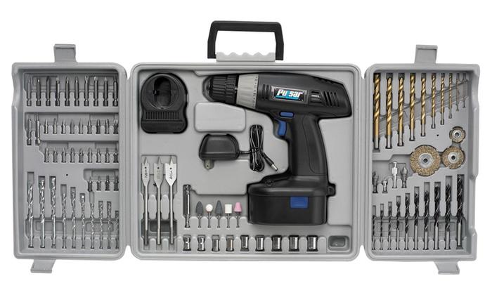 Pulsar Cordless Drill Kit (92-Piece)