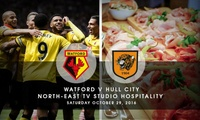 One (1) Ticket to See Watford FC v Hull City, 29 October at Watford FC (Up to 22% Off)