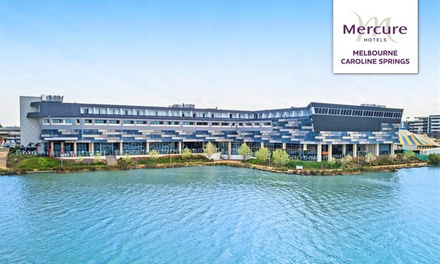 Caroline Springs: 1 Night for 2 w/ Cocktail Voucher, Welcome Gift & Late Check-Out at Mercure Melbourne Caroline Springs