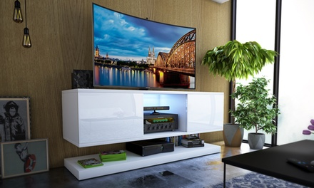 Porta Tv Pensile.Mobile Pensile Porta Tv Wizz Con O Senza Led Disponibile In