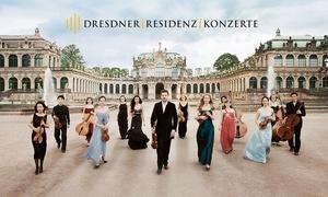Dresdner Residenz Konzerte: Meisterwerke der Klassik oder Vivaldi im Januar und Februar 2018 im Wallpavillon im Dresdner Zwinger (30% sparen)