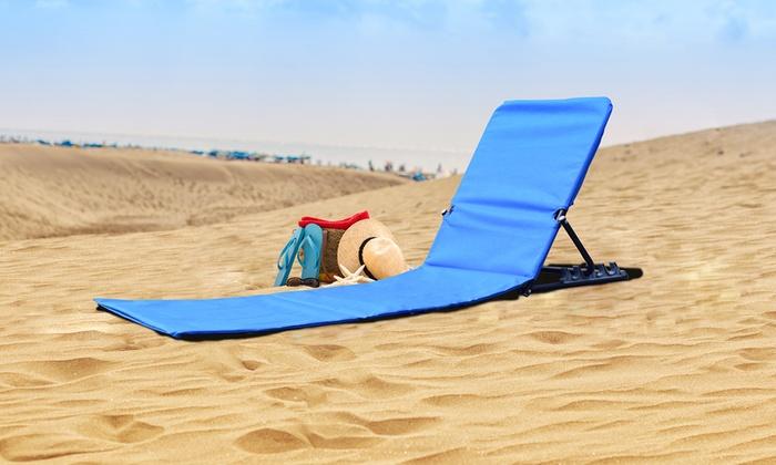 Extreem Tot 50% op Opklapbare ligstoel voor strand | Groupon Producten TR75