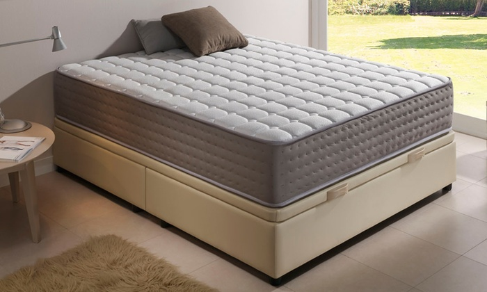 matelas graphene deluxe 30 cm groupon. Black Bedroom Furniture Sets. Home Design Ideas