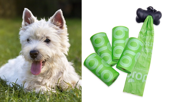 600 Biodegradable Dog Waste Bags