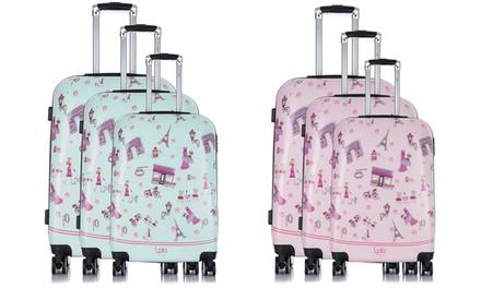 Set de 3 maletas modelo Alexia