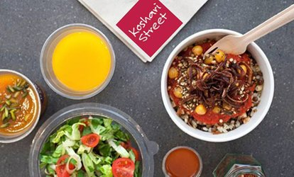 image for Egyptian Street Food Experience For One or Two at Koshari Street, Three Locations (Up to 37% Off)
