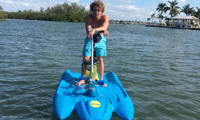 Water Bike Rentals Bay Breeze South Boat Rentals Groupon