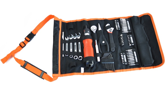 Trousse outils black decker 81pcs groupon for Outils black et decker